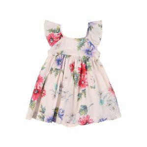 GAP Šaty  ružová / ružová / béžová
