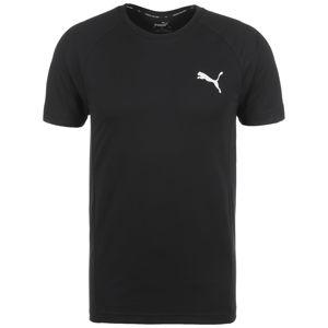 PUMA Funkčné tričko 'Evostripe'  čierna