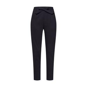 Tigha Plisované nohavice 'Smera'  čierna