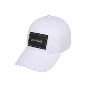 Calvin Klein Čiapka 'PATCH BB'  biela