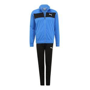 PUMA Tréningový komplet 'Techstripe Tricot Suit cl'  čierna / modré