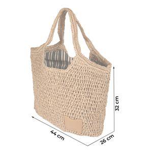 ESPRIT Plážová taška 'Dido Tote'  béžová