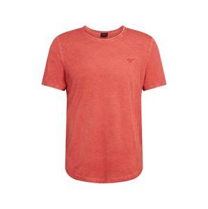JOOP! Jeans Tričko 'Clark'  oranžovo červená