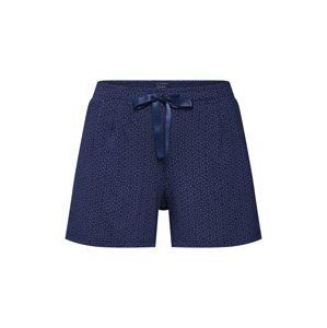 SCHIESSER Pyžamové nohavice  tmavomodrá