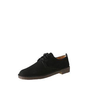 Clarks Originals Šnurovacie topánky 'Desert London'  čierna