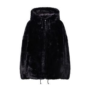 DKNY Prechodná bunda 'FUR COAT'  čierna