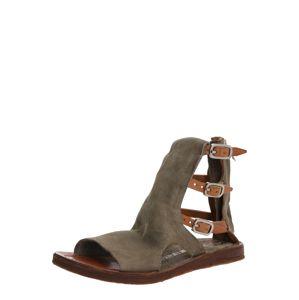 A.S.98 Remienkové sandále 'RAMOS'  sivá / béžová