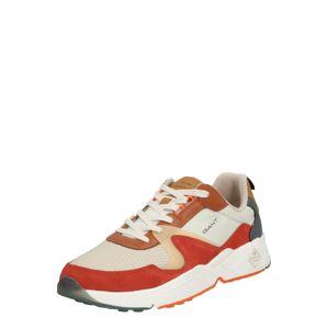 GANT Nízke tenisky  zmiešané farby / oranžovo červená / béžová