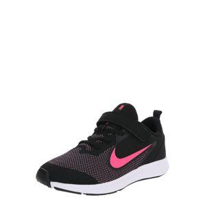 NIKE Športová obuv 'NIKE DOWNSHIFTER 9 (PSV)'  ružová / čierna