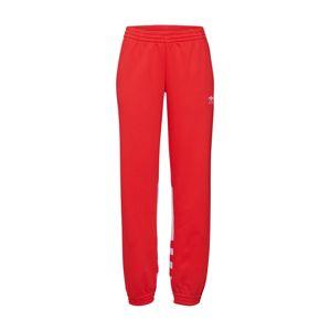 ADIDAS ORIGINALS Nohavice  červené / biela