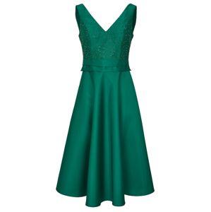 Heine Kokteilové šaty  smaragdová