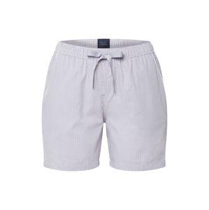 SCHIESSER Pyžamové nohavice  svetlosivá