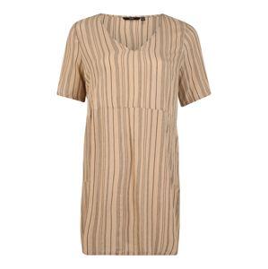 Vero Moda Curve Šaty 'ZANNA'  béžová