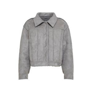 Pepe Jeans Prechodná bunda 'ANDREA'  sivá