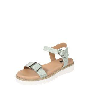 ONLY Remienkové sandále 'Malu'  mätová