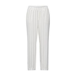 ONLY Plisované nohavice 'SAPHIRA'  šedobiela