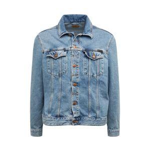 Nudie Jeans Co Prechodná bunda 'Jerry'  modrá denim