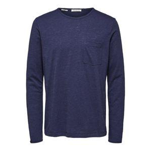SELECTED HOMME Tričko  modré