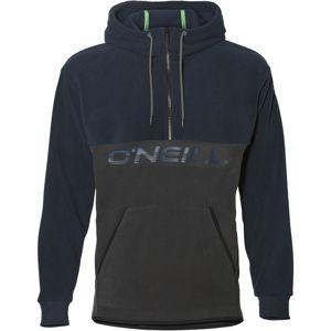 O'NEILL Športový sveter 'PM 1/4 ZIP HYBRID FLEECE'  tmavomodrá / tmavosivá