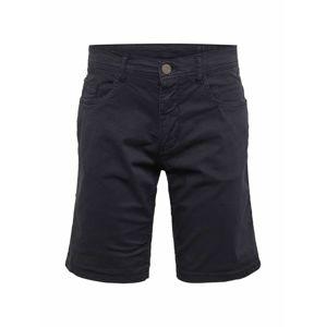 BLEND Nohavice 'Shorts'  námornícka modrá
