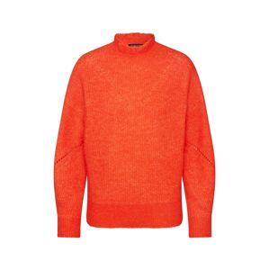 SELECTED FEMME Sveter  oranžovo červená
