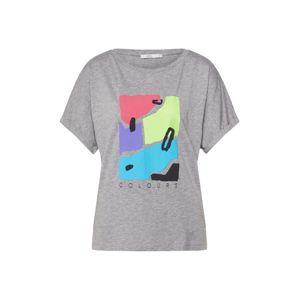 EDC BY ESPRIT Tričko  zmiešané farby / sivá