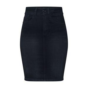 G-Star RAW Sukňa 'Lynn Slim Skirt'  čierna