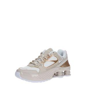 Nike Sportswear Nízke tenisky 'SHOX ENIGMA 9000'  biela / béžová