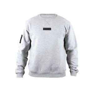 MOROTAI Športová mikina ' Small Bloc Logo Sweatshirt '  sivá
