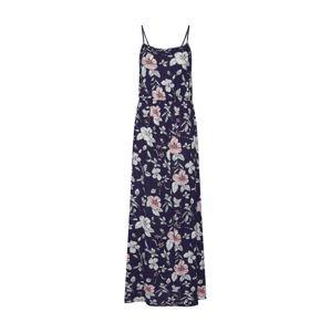 ONLY Letné šaty 'SALLY'  tmavomodrá / ružová