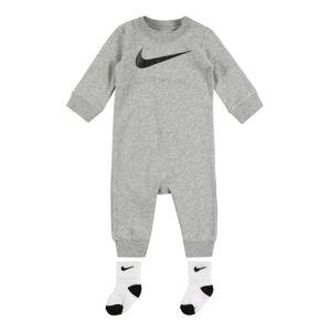 Nike Sportswear Overal 'ICON COVERALL W/SOCK'  sivá melírovaná