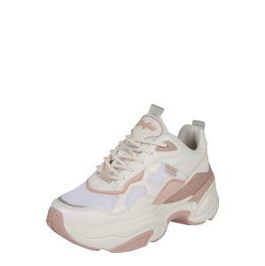 BUFFALO Nízke tenisky 'CREVIS P1'  ružová / biela