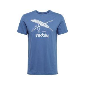 Iriedaily Tričko  dymovo modrá
