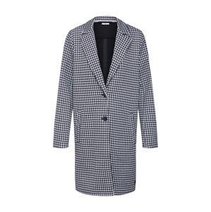 Marc O'Polo DENIM Prechodný kabát  čierna / biela