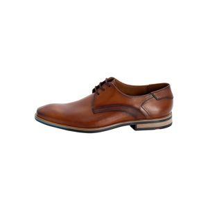 LLOYD Šnurovacie topánky 'LAPAZ'  hnedé