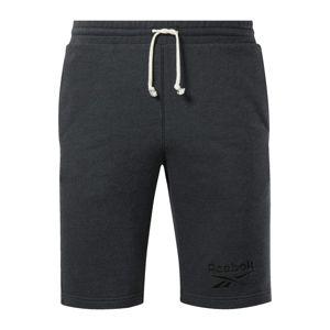 REEBOK Športové nohavice  tmavosivá
