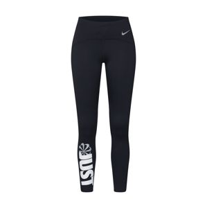 NIKE Športové nohavice 'Speed'  čierna / biela
