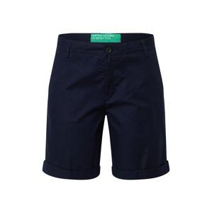 UNITED COLORS OF BENETTON Chino nohavice  námornícka modrá