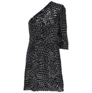 ONLY Šaty  čierna / strieborná