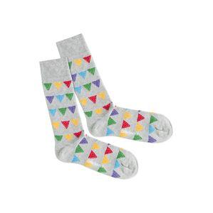 DillySocks Ponožky 'Party Flags'  zmiešané farby