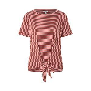OBJECT Tričko  červené / biela