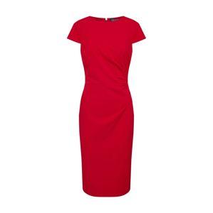 Lauren Ralph Lauren Šaty  karmínovo červená