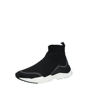 ANTONY MORATO Členkové tenisky 'SOCKS RUNNING'  čierna / biela
