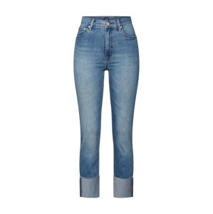 GAP Džínsy 'HR CIGARETTE RAW HIGH CUFF MED'  indigo