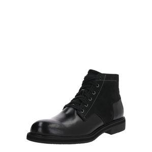 G-Star RAW Šnurovacie čižmy 'Garber Derby Boot'  čierna