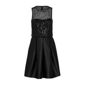 Laona Kokteilové šaty  čierna