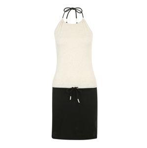 Iriedaily Letné šaty  čierna / nebielený