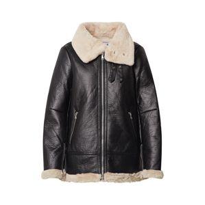 NA-KD Prechodná bunda  béžová / čierna
