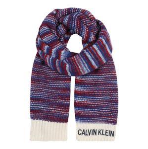 Calvin Klein Šál 'J KNIT CALVIN KLEIN JEANS SCARF'  zmiešané farby