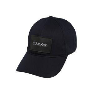 Calvin Klein Čiapka 'PATCH BB'  námornícka modrá